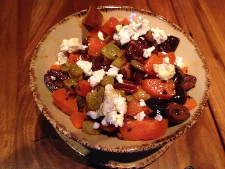 Carrot Panzanella