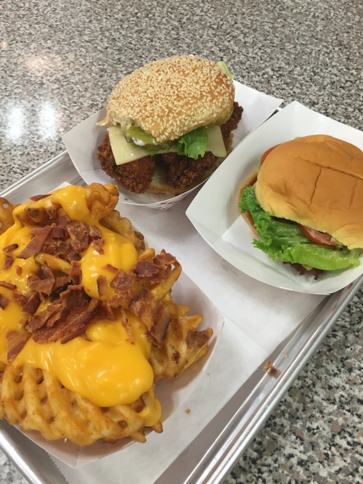 WuBurger, South End, Waffle Fries